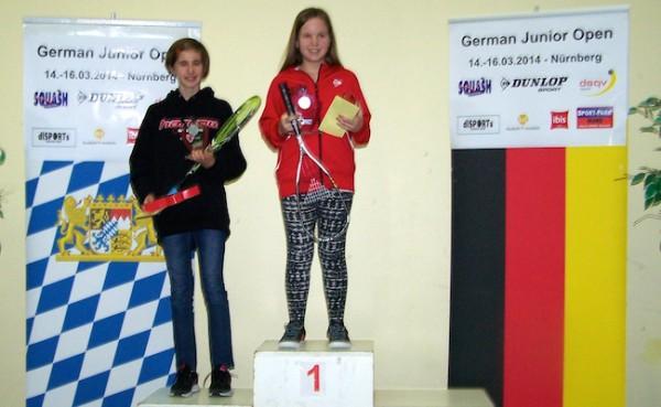 Zwei Stockerlplätze bei der German Junior Open