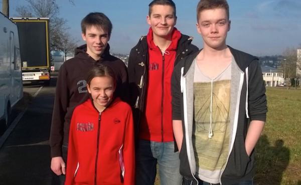 Fünf KSC Kids bei der 3. Deutschen Jugendrangliste in Waiblingen