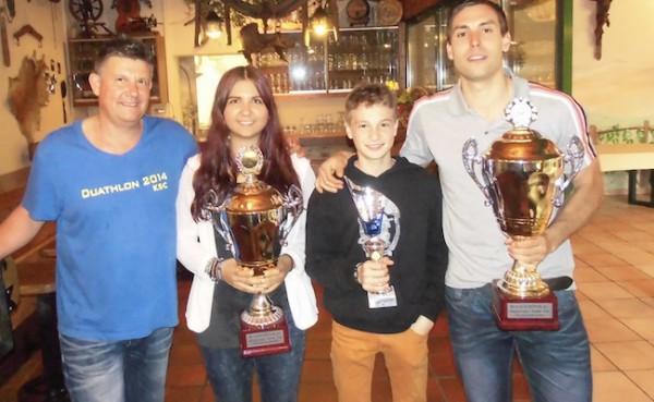 Sina und Flo gewinnen Vereinsmeisterschaft