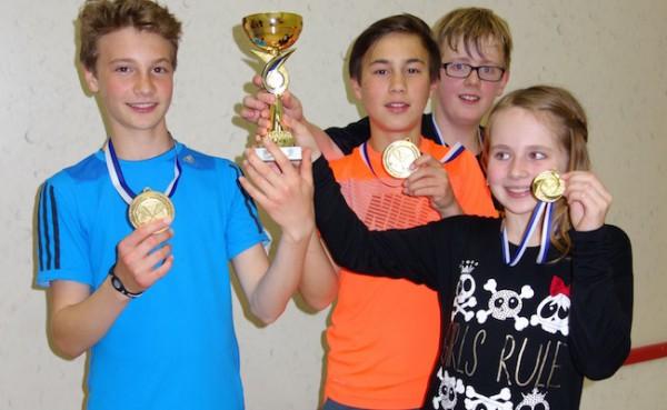 KSC holt drei Titel beim Finale der Talentiade in Nürnberg