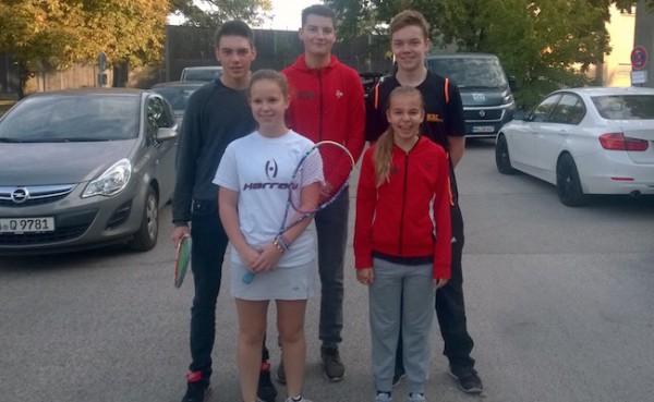 Fünf KSC Kids bei der ersten Deutschen Jugendrangliste in Berlin