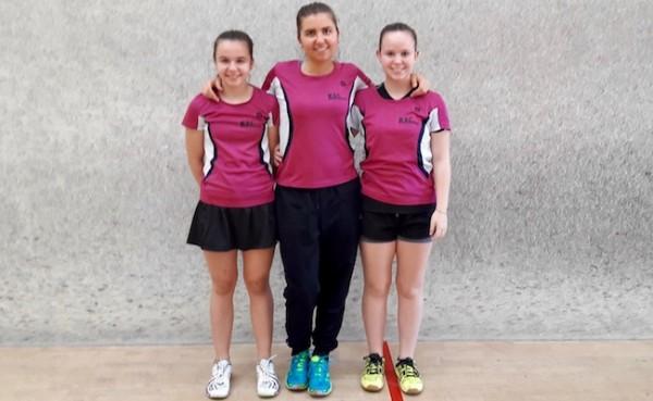 Unsere Youngsters Lucie, Jana und Sina bestreiten gemeinsam letzten Damenspieltag