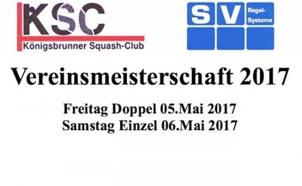 Einladung zur Vereinsmeisterschaft 2017