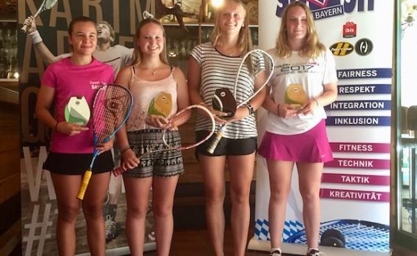 KSC holt mit Jana, Lucie und Antonia drei bayrische Titel bei Jugendmeisterschaft