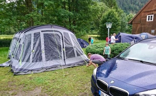 Camping mit der KSC Jugend in Oberammergau