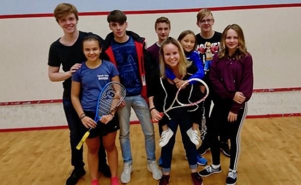 Jana gewinnt Mädchen A Feld beim 1. Bayerischen Jugendranglistenturnier in Königsbrunn