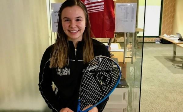 Lucie im Finale bei der Austrian Junior Open