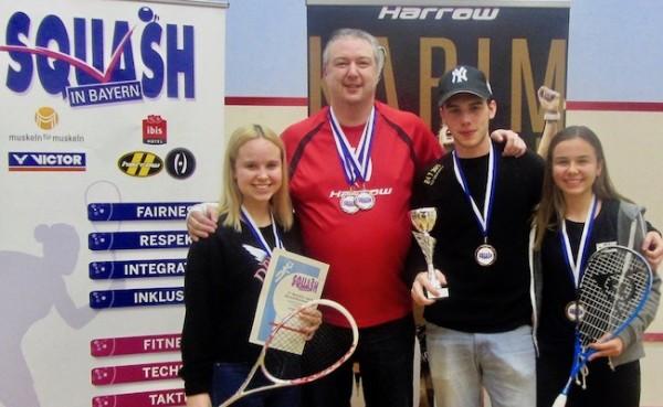 Bayrische Jugend Einzelmeisterschaft und Team Meisterschaft beim KSC – Jana gewinnt Titel