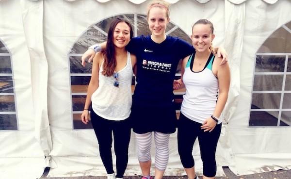 Jana mit Platz 6 bei ihrem ersten Damen-Elite-Turnier bei den Erwachsenen in Frankfurt