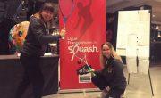 Lucie und Jana bei den Belgien Junior Open